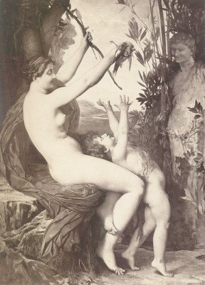 Jules Joseph Lefebvre - Nymph et Bacchus (Nymph and Bacchus)